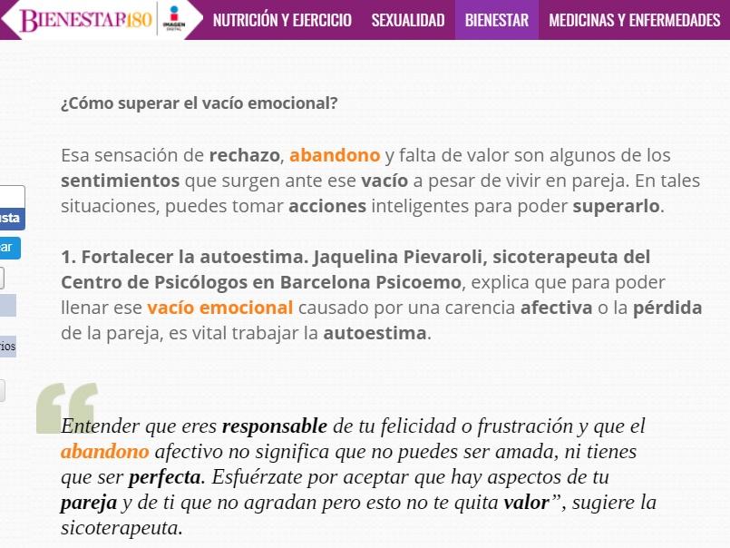Psicóloga en Barcelona Jaquelina Pievaroli